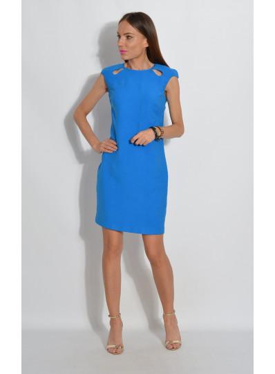 Sukienka z łezkami niebieska