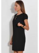 Sukienka z napami czarna