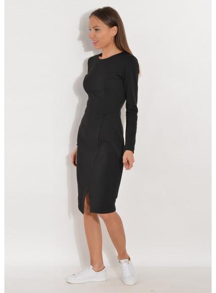 Sukienka z dżerseju czarna