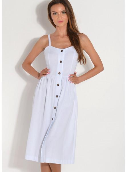 Sukienka midi z guzikami