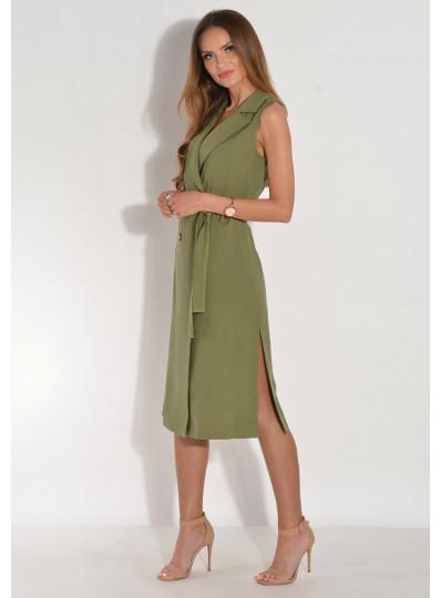 Sukienka dwurzędowa