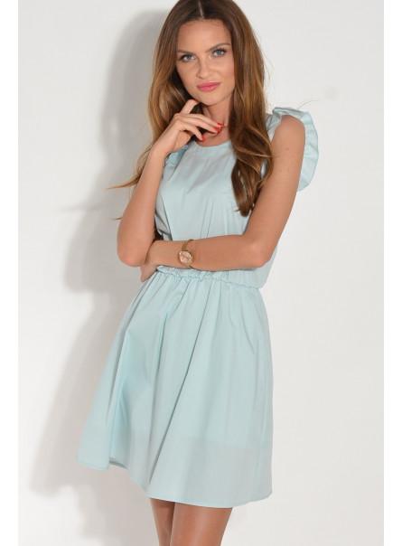 Sukienka Zuza z motylkowym rękawem