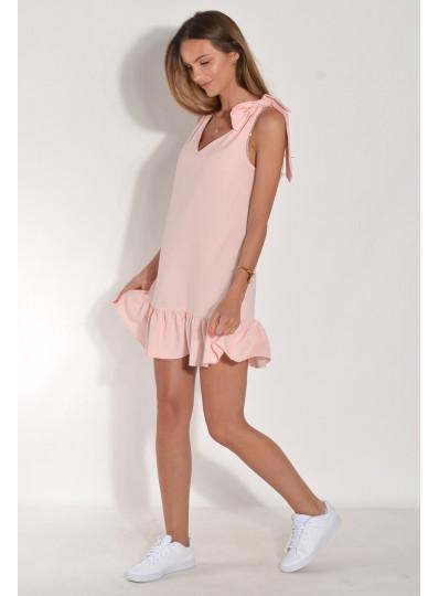 Sukienka Kamila z wiązaniami