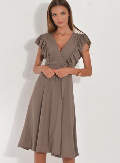 Sukienka Kate z rozcięciami