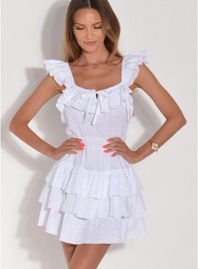 Sukienka z batystu
