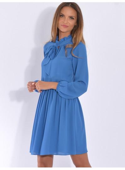 Sukienka z wiązaniem Elwira
