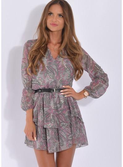 Sukienka Sofia mazany wzór