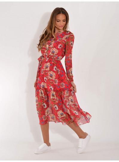 Sukienka szyfonowa Alda