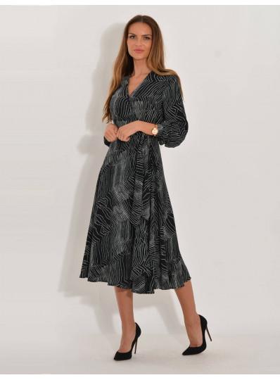 Sukienka Anita ze wzorem