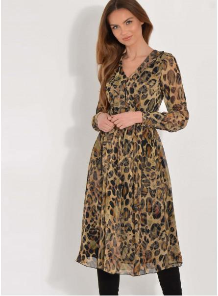 Sukienka Mariorita w panterkę