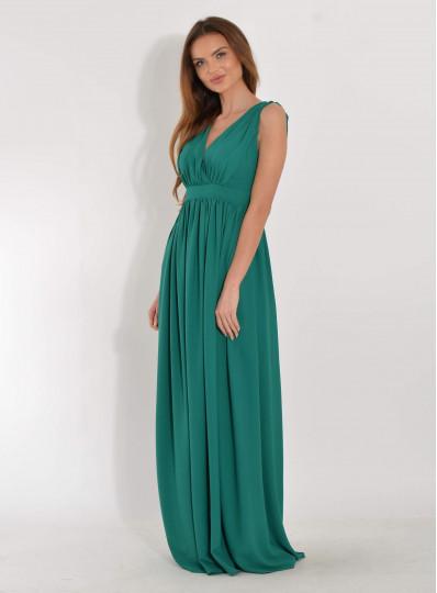 Sukienka maxi zielona