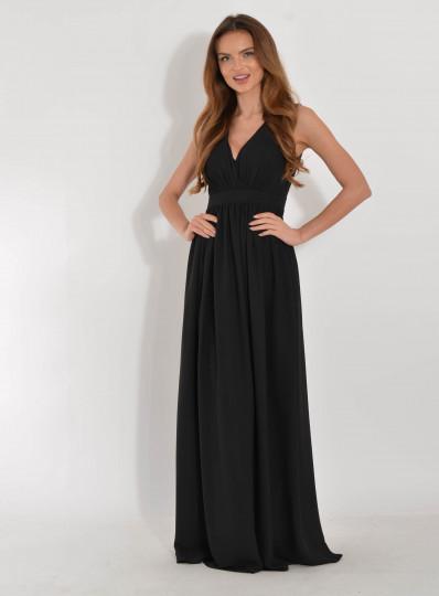 Sukienka maxi czarna