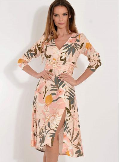 Sukienka Martina tropikalna