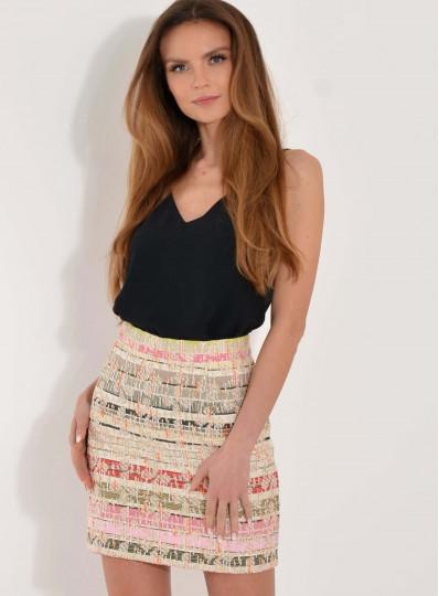 Spódnica Arleta chanelkowa