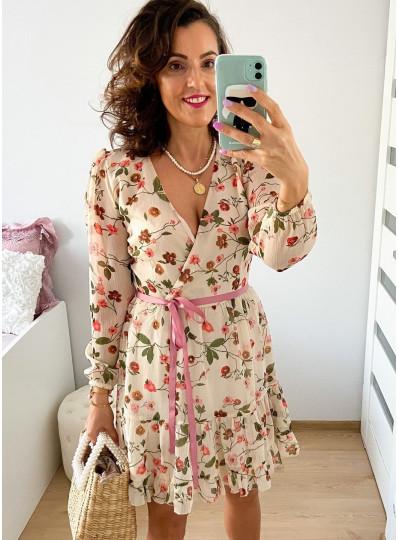 Sukienka szyfonowa Wena