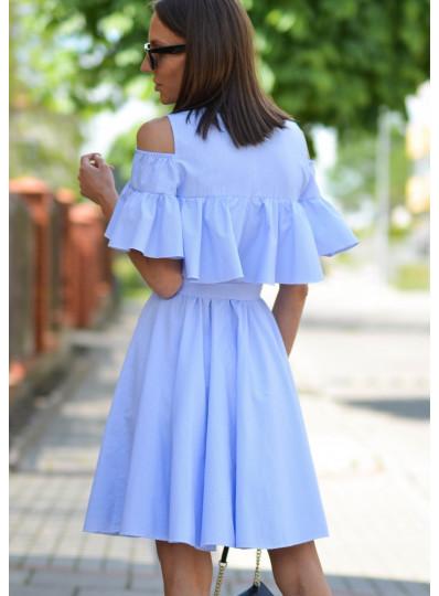Sukienka Maya w błękitne paski