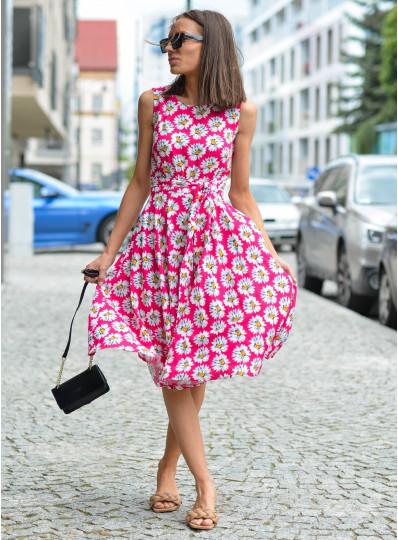 Sukienka Sandra z szarfą