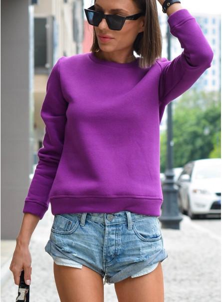 Bluza basic fiolet