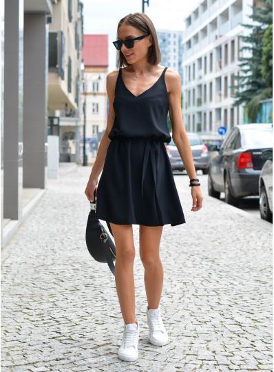 Sukienka na ramiączkach czarny