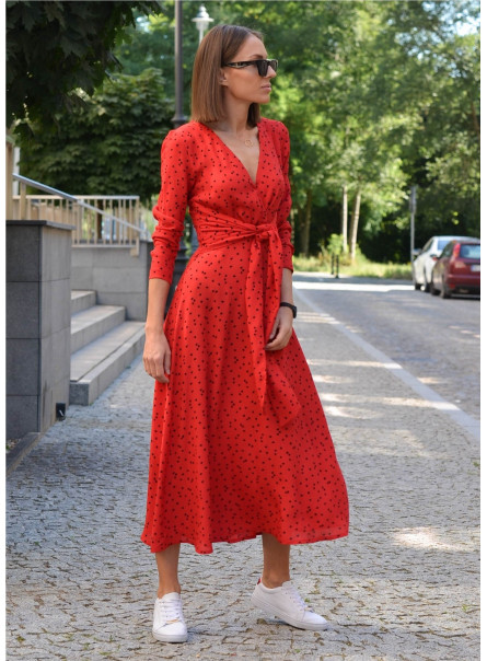 Sukienka Martika z szarfą