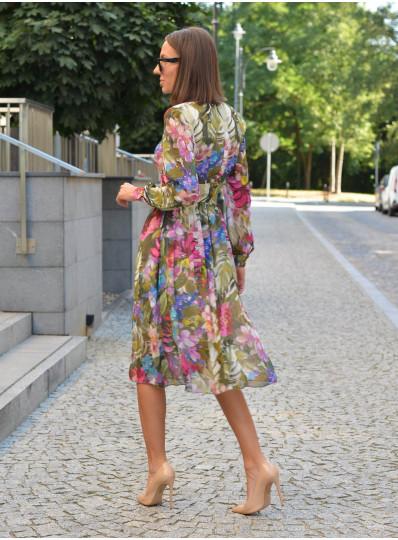 Sukienka Steffi w kwiaty