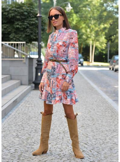 Sukienka wiskozowa Celeste