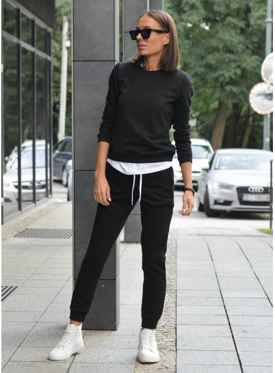 Spodnie dresowe czarne