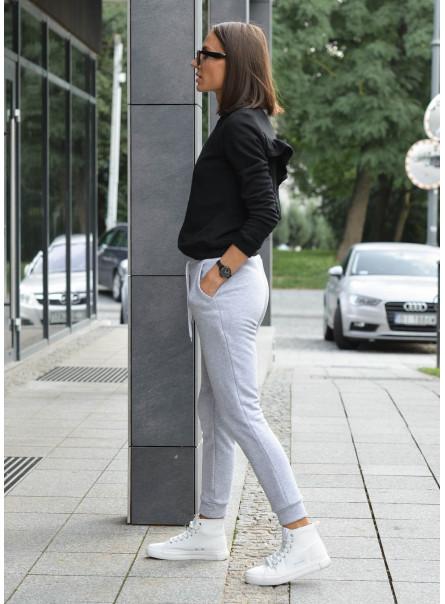Spodnie dresowe szary meanż
