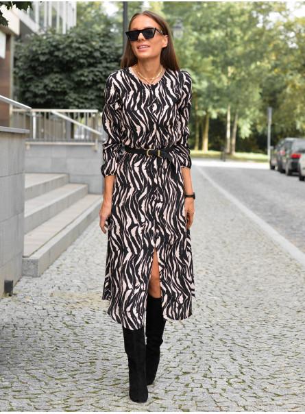Wiskozowa sukienka Margit