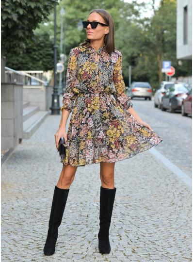 Sukienka Ella z szyfonu
