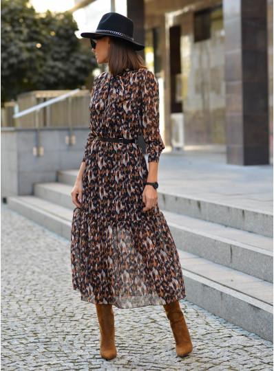 Sukienka Sybilla szyfonowa