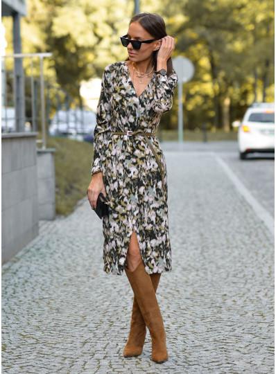 Sukienka Andrea z kopertowym przodem
