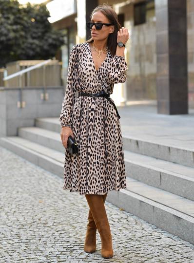 Sukienka zakładana midi Cecylia