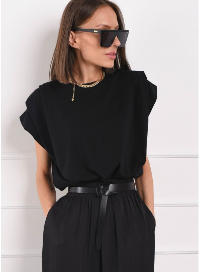 Bluzka dzianinowa Lidia czarna