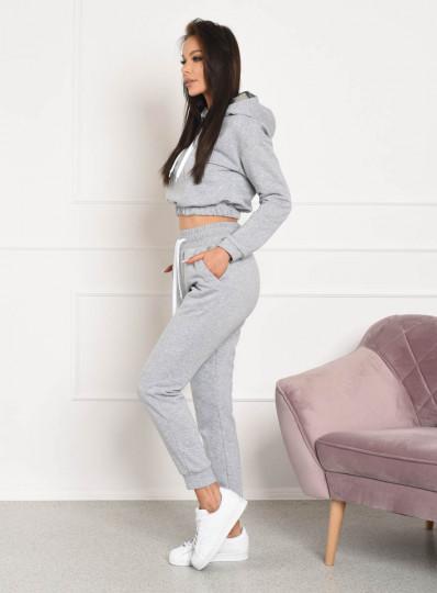 Spodnie dresowe light melange