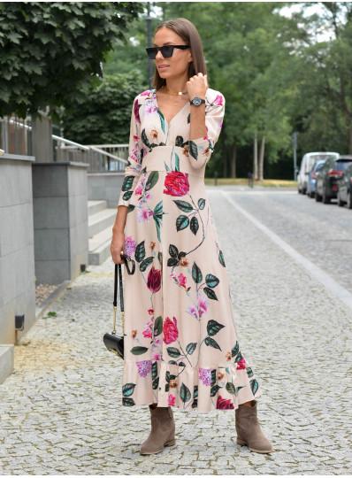 Sukienka Marciana z rozporkiem