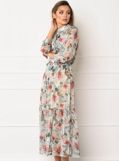 Sukienka Flower błękitna