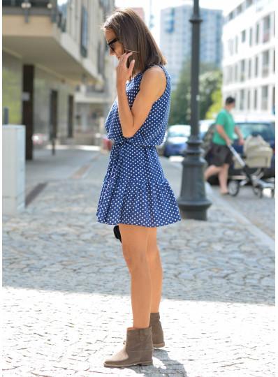 Sukienka Miszel w groszki