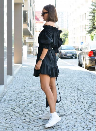 Sukienka hiszpanka czarna