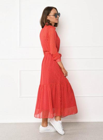Sukienka szyfonowa Dots