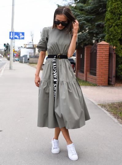 Sukienka Arianna khaki