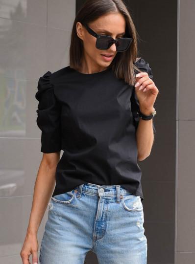 Bluzka Alma z popeliny czarna