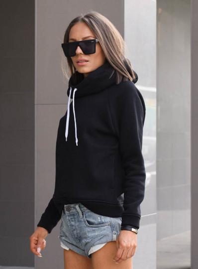 Bluza z kapturem black