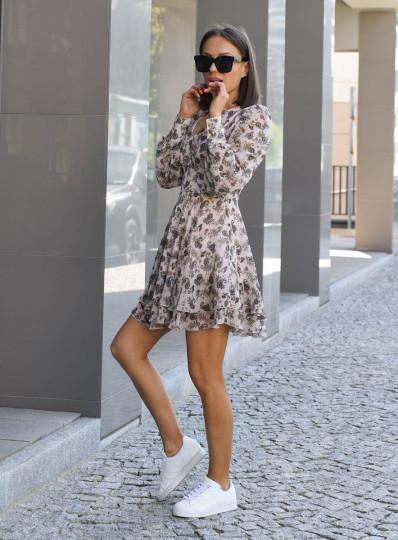 Sukienka Konstancja z szyfonu