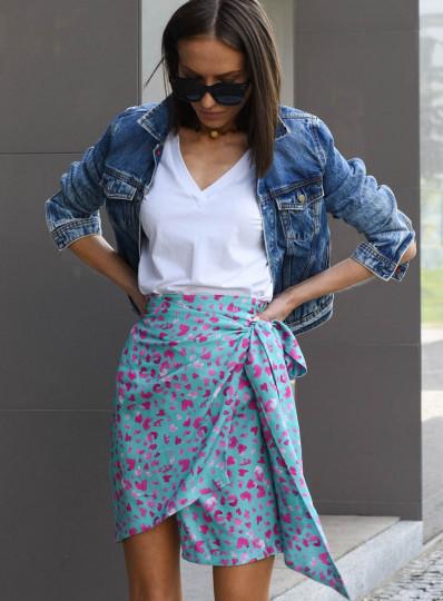 Spódnica Calistra z wiskozy