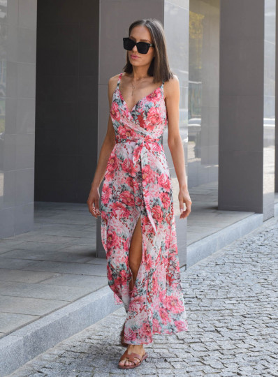 Sukienka Pilar Maxi z rozporkiem