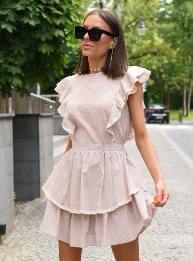 Sukienka Tiffi z gipiurą