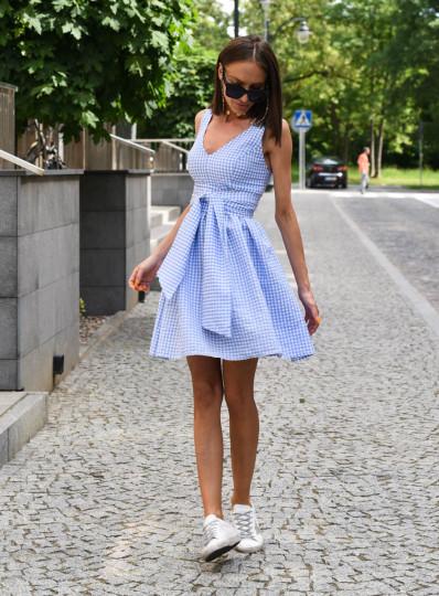 Sukienka Klara w krateczkę