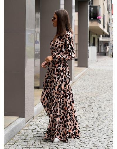 Sukienka Marina w panterkę