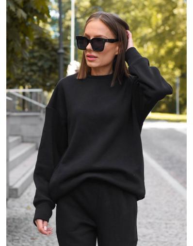 Bluza oversize czarna